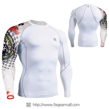 FIXGEAR CP-W5 Compression Base Layer Shirts