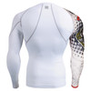 FIXGEAR CP-W5 Compression Base Layer Shirts Rear