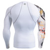 FIXGEAR CP-W9 Compression Base Layer Shirts Rear