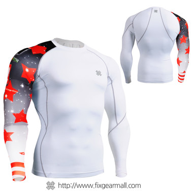 FIXGEAR CP-W10 Compression Base Layer Shirts