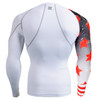 FIXGEAR CP-W10 Compression Base Layer Shirts rear