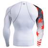 FIXGEAR CP-W10 Compression Base Layer Shirts rear