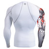 FIXGEAR CP-W30 Compression Base Layer Shirts Rear
