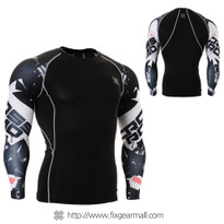FIXGEAR CPD-B17 Compression Base Layer Shirts