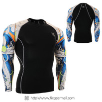 FIXGEAR CPD-B19B Compression Base Layer Shirts