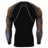 FIXGEAR CPD-B27 Compression Base Layer Shirts Rear