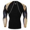 FIXGEAR CPD-B32 Compression Base Layer Shirts Rear