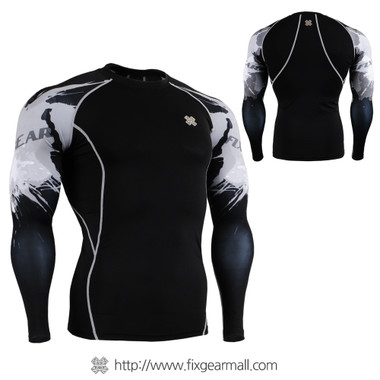 FIXGEAR CPD-B54 Compression Base Layer Shirts