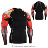 FIXGEAR CPD-B64R Compression Base Layer Shirts