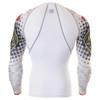 FIXGEAR CPD-W5 Compression Base Layer Shirts Rear