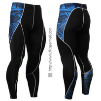FIXGEAR P2L-B1 Compression Base Layer Pants