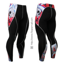 FIXGEAR P2L-B19R Compression Leggings Pants