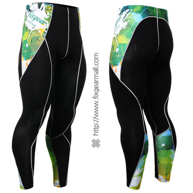 FIXGEAR P2L-B47 Compression Leggings Pants