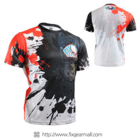 FIXGEAR RM-4402 Men's Casual short sleeve Crew-Neck T-shirt