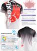 FIXGEAR RM-5002 T-Shirts Men's Sports Tee Description