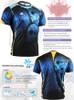 FIXGEAR RM-5302 T-Shirts Men's Sports Tee Description