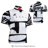FIXGEAR BM-3402 Casual Mens short sleeve jersey 1/4 zip-up T-shirt