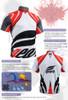 FIXGEAR BM-3602 Casual Mens short sleeve jersey 1/4 zip-up T-shirt Description