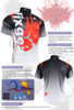 FIXGEAR BM-5002 Casual Mens short sleeve jersey 1/4 zip-up T-shirt Description