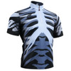 FIXGEAR BM-5502 Casual Mens short sleeve jersey 1/4 zip-up T-shirt Front