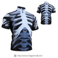 FIXGEAR BM-5502 Casual Mens short sleeve jersey 1/4 zip-up T-shirt