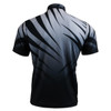 FIXGEAR BM-5702 Casual Mens short sleeve jersey 1/4 zip-up T-shirt