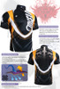 FIXGEAR BM-5802 Casual Mens short sleeve jersey 1/4 zip-up T-shirt Description