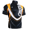 FIXGEAR BM-5802 Casual Mens short sleeve jersey 1/4 zip-up T-shirt Front