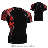 FIXGEAR C2S-B2 Compression Shirts Base Layer Short Sleeve