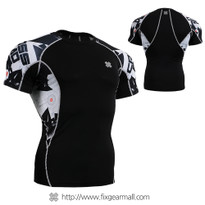 FIXGEAR C2S-B17 Compression Shirts Base Layer Short Sleeve