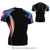 FIXGEAR C2S-B37 Compression Shirts Base Layer Short Sleeve