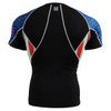 FIXGEAR C2S-B37 Compression Shirts Base Layer Short Sleeve Rear