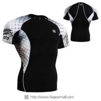 FIXGEAR C2S-B38 Compression Shirts Base Layer Short Sleeve