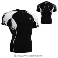 FIXGEAR C2S-B39 Compression Shirts Base Layer Short Sleeve