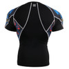 FIXGEAR C2S-B46 Compression Shirts Base Layer Short Sleeve rear
