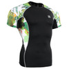 FIXGEAR C2S-B47 Compression Shirts Base Layer Short Sleeve Front