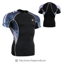 FIXGEAR C2S-B48 Compression Shirts Base Layer Short Sleeve