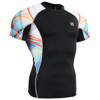 FIXGEAR C2S-B49 Compression Shirts Base Layer Short Sleeve Front