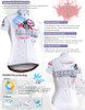 FIXGEAR CS-W2902 Women's Short Sleeve Cycling Jersey description