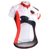 FIXGEAR CS-W2502 Women's Short Sleeve Cycling Jersey front view