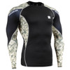 FIXGEAR C3L-B45Y Compression Base Layer Shirts front view