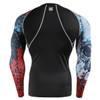 FIXGEAR CPD-B73 Compression Base Layer Shirts rea view