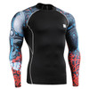 FIXGEAR CPD-B73 Compression Base Layer Shirts front view