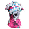 FIXGEAR CS-W19P2 Women's Short Sleeve Cycling Jersey rear view
