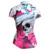 FIXGEAR CS-W19P2 Women's Short Sleeve Cycling Jersey rear view