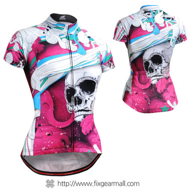 FIXGEAR CS-W19P2 Women's Short Sleeve Cycling Jersey
