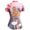FIXGEAR CS-W1602 Women's Short Sleeve Cycling Jersey rear view