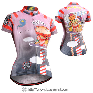 FIXGEAR CS-W1602 Women's Short Sleeve Cycling Jersey