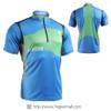 FIXGEAR BM-75B2 Casual Mens short sleeve jersey 1/4 zip-up T-shirt