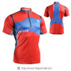 FIXGEAR BM-75R2 Casual Mens short sleeve jersey 1/4 zip-up T-shirt